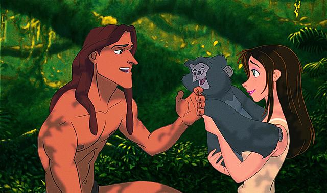 Création de Tarzan