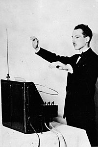 Theremin Patented