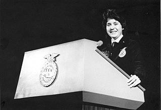 1982 - First Female National FFA President