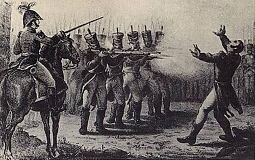 Agustín de Iturbide es detenido y fusilado