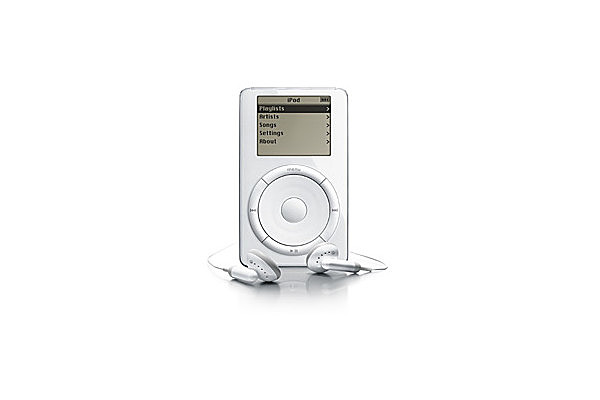Apple releases the first IPOD