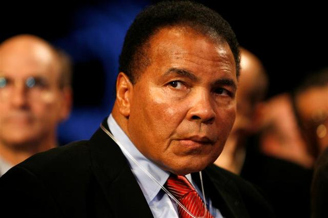 Muhammad Ali retires.