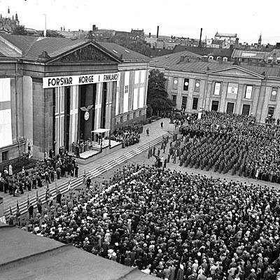 Norge og andre verdenskrig timeline