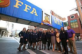 The 79th National FFA Convention is held in Indianapolis for the first time