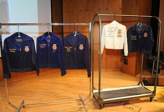 Five FFA jackets are donated to the Smithsonian's National Museum of American History.