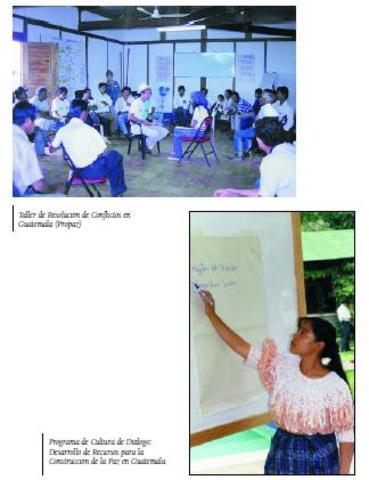 Apoyo a la Construcción del Proceso de Democratización y Establecimiento de la Paz en Guatemala