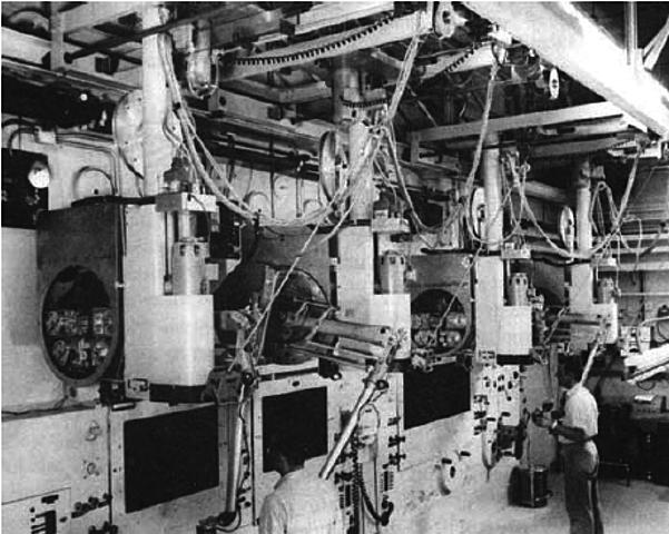 Primeros robots industriales 2ªG