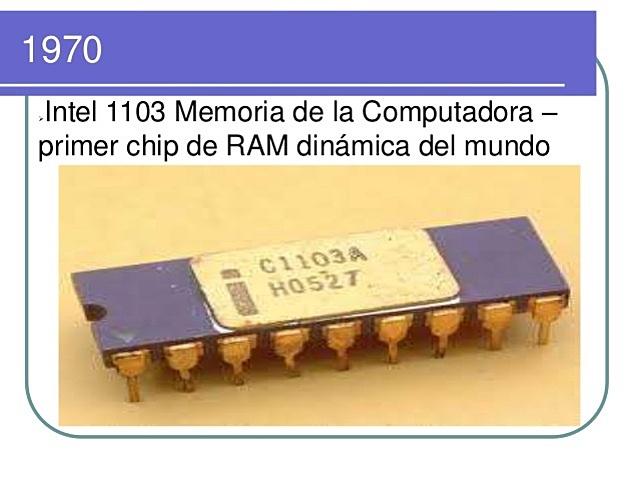 Intel crea la primera memoria RAM 3ªG.