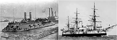 The Invention of the First Iron-Clad Warship