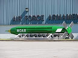 The Development of the M.O.A.B. (Mother Of All Bombs