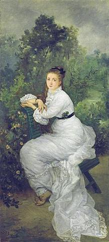 Louise Quivoron aka Woman in the garden