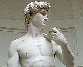 Michelangelo begins his work on the sculpture David.