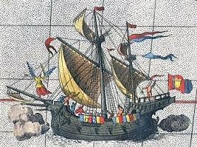 Ferdinand Magellan begins his voyage around the world.