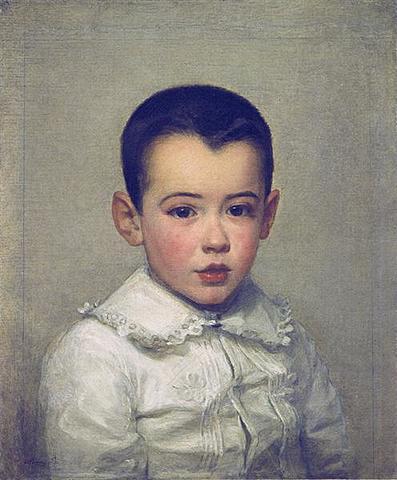 Pierre Bracquemond as child