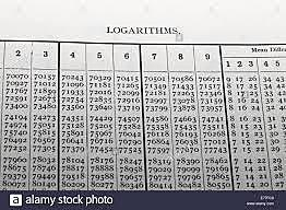 Tablas logarítmicas