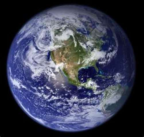 (2.2 BYA)  Earth develops similar to as it is today.