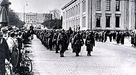 Norge under 2. verdenskrig timeline