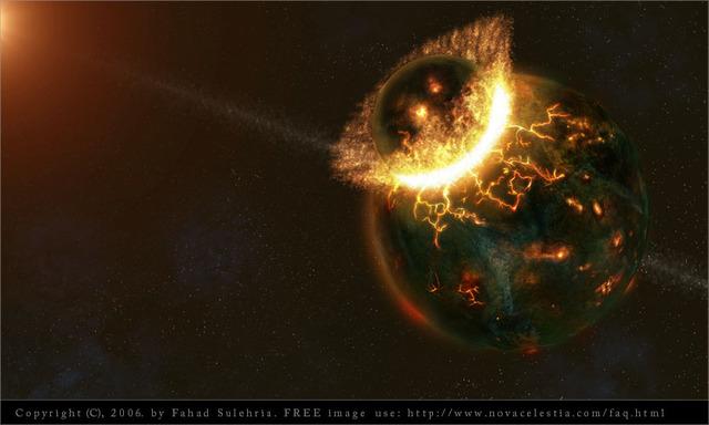 (4.6 BYA)Creation of the Earth