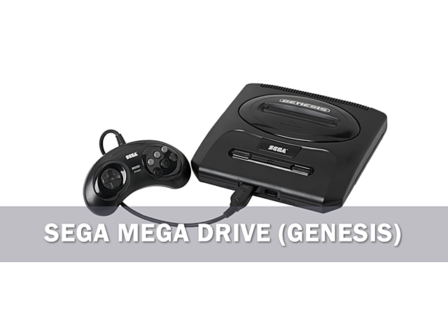 SEGA MEGA DRIVE (GENESIS)