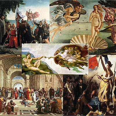 Edad Moderna y sus antecedentes timeline