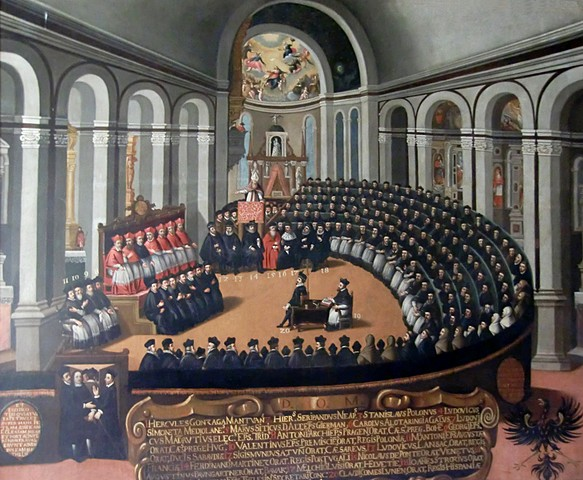 Start of Council of Trent