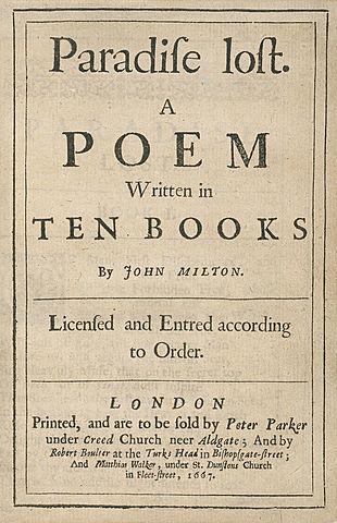 John Milton – Paradise Lost