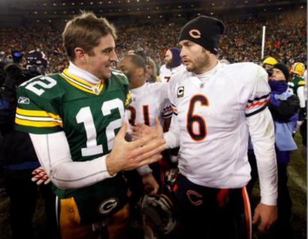 Sports: The NFC north rivals met in Chicago with the bears.