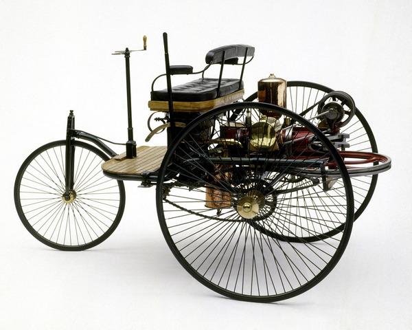 Three- wheeled Benz Motor Car
