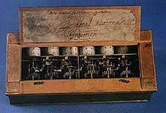Maquina de calcular mecánica