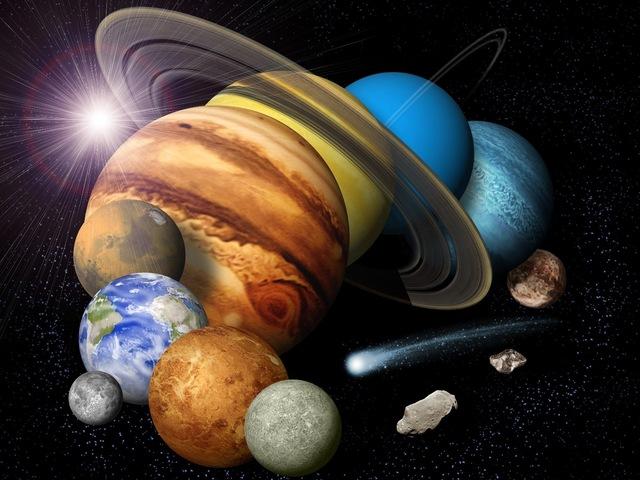 (5 Billion Years Ago) Solar System Forms