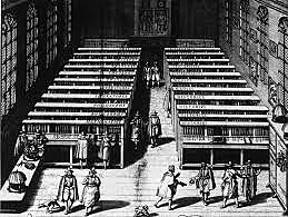 La primera biblioteca.