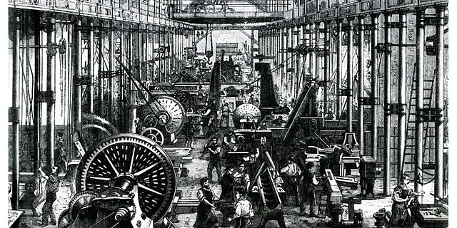 Inicio la Revolución Industrial.