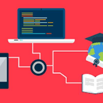 Evolução das tecnologias ligadas à educação timeline