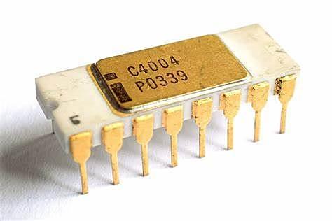 Intel 4004 4ªG.