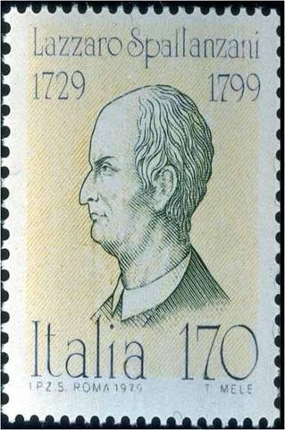 (1729-1799) Spallanzani's Experiment