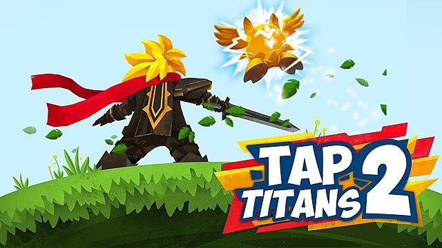 Tap titans mobile