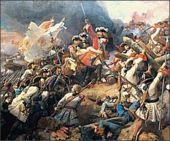 Start of Queen Anne's War