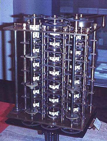 Primera máquina diferencial