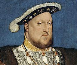 Henry VIII becomes king of England.