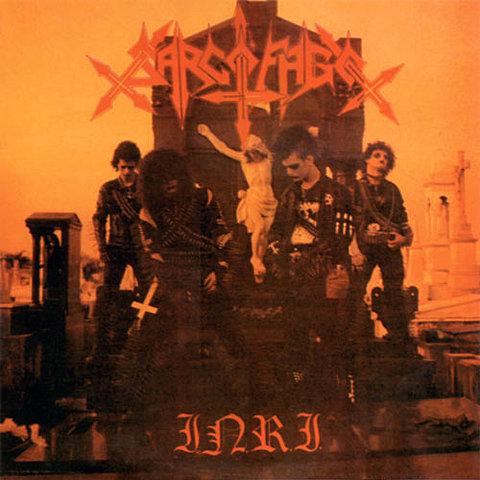 Album 'I.N.R.I.' par 'Sarcófago '