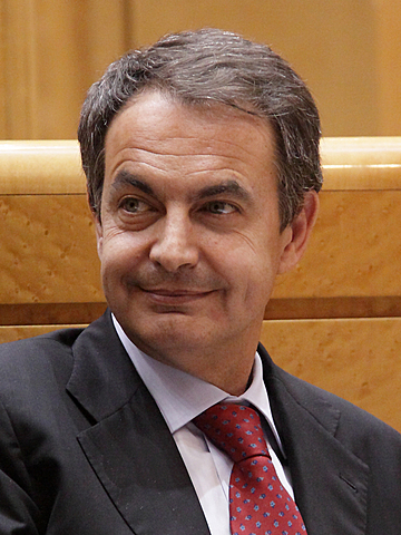 Jose Luís Zapatero s'escull com a president del govern.