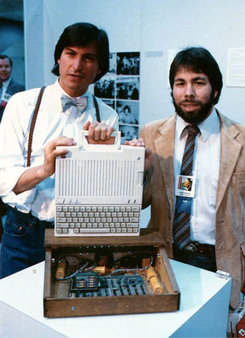 Jobs created the first successful personal computer Apple II