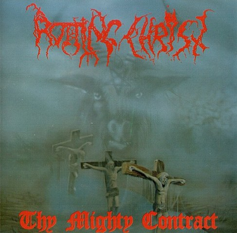 Album 'Thy Mighty Contract' par 'Rotting Christ'