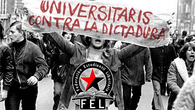 El movimiento estudiantil en Cataluña durante el franquismo