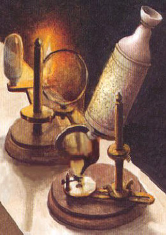First Microscope(s) (1665)