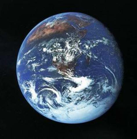 Earth's Modern Appearance (2.2 BYA)