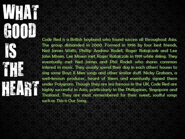 WHAT GOOD IS THE HEART