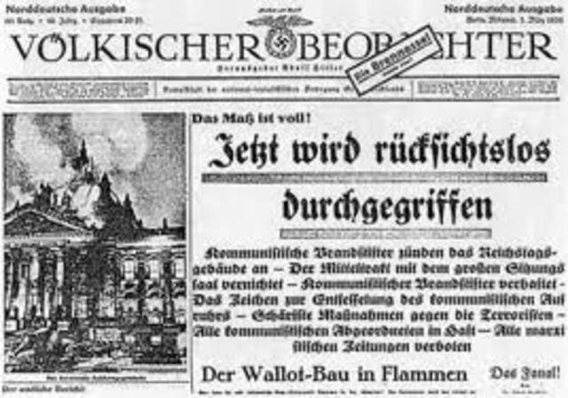 Aprobación de la Ley Habilitante de 1933