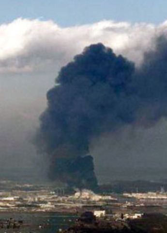 Second explosion occurs at the stricken Fukushima nuclear power station.
