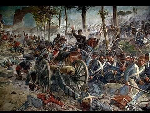 Sconfitta dell'esercito borbonico al Volturno